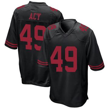 Youth Nike San Francisco 49ers DeMarkus Acy Black Alternate Jersey - Game