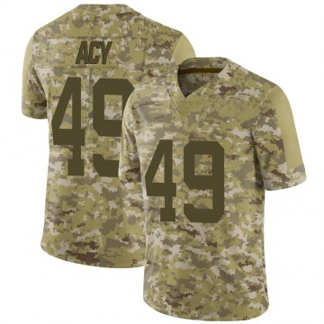 Youth Nike San Francisco 49ers DeMarkus Acy Camo 2018 Salute to Service Jersey - Limited