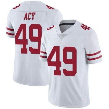Youth Nike San Francisco 49ers DeMarkus Acy White Vapor Untouchable Jersey - Limited