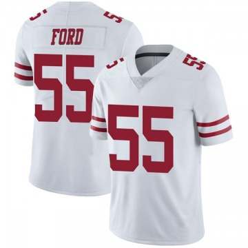 Youth Nike San Francisco 49ers Dee Ford White Vapor Untouchable Jersey - Limited