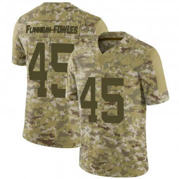 Youth Nike San Francisco 49ers Demetrius Flannigan-Fowles Camo 2018 Salute to Service Jersey - Limited