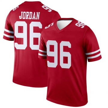 Youth Nike San Francisco 49ers Dion Jordan Scarlet Jersey - Legend