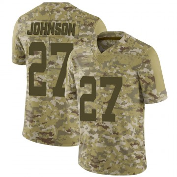 Youth Nike San Francisco 49ers Dontae Johnson Camo 2018 Salute to Service Jersey - Limited
