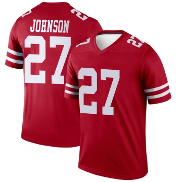 Youth Nike San Francisco 49ers Dontae Johnson Scarlet Jersey - Legend