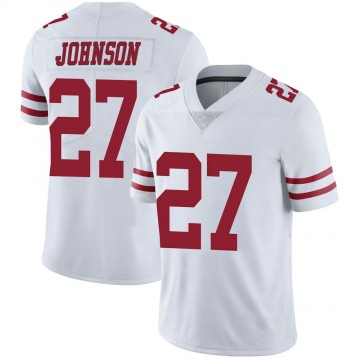 Youth Nike San Francisco 49ers Dontae Johnson White Vapor Untouchable Jersey - Limited