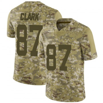 Youth Nike San Francisco 49ers Dwight Clark Camo 2018 Salute to Service Jersey - Limited