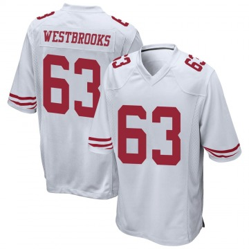 Youth Nike San Francisco 49ers Ethan Westbrooks White Jersey - Game