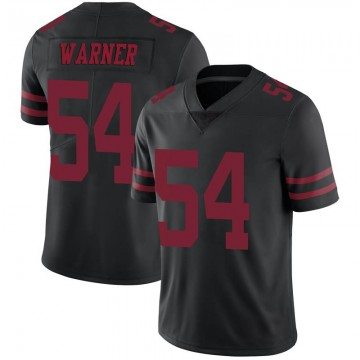 Youth Nike San Francisco 49ers Fred Warner Black Alternate Vapor Untouchable Jersey - Limited