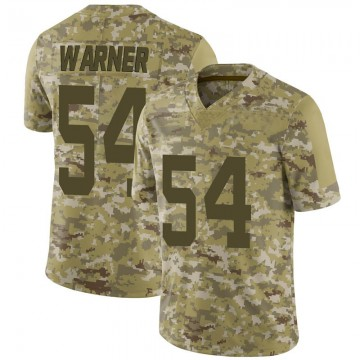 Youth Nike San Francisco 49ers Fred Warner Camo 2018 Salute to Service Jersey - Limited