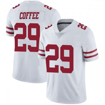 Youth Nike San Francisco 49ers Glen Coffee Coffee White Vapor Untouchable Jersey - Limited