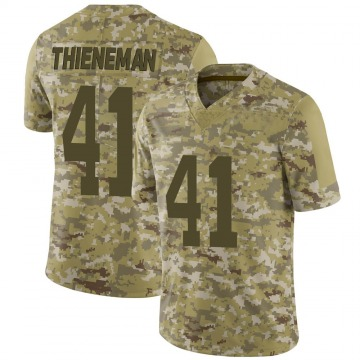 Youth Nike San Francisco 49ers Jacob Thieneman Camo 2018 Salute to Service Jersey - Limited