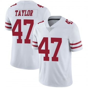 Youth Nike San Francisco 49ers Jamar Taylor White Vapor Untouchable Jersey - Limited