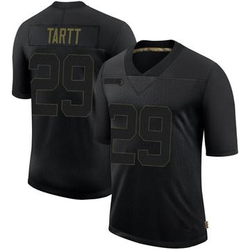 Youth Nike San Francisco 49ers Jaquiski Tartt Black 2020 Salute To Service Jersey - Limited