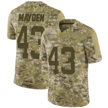 Youth Nike San Francisco 49ers Jared Mayden Camo 2018 Salute to Service Jersey - Limited