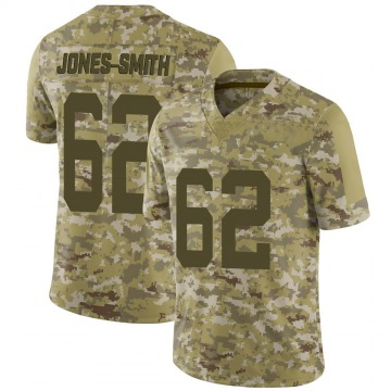 Youth Nike San Francisco 49ers Jaryd Jones-Smith Camo 2018 Salute to Service Jersey - Limited