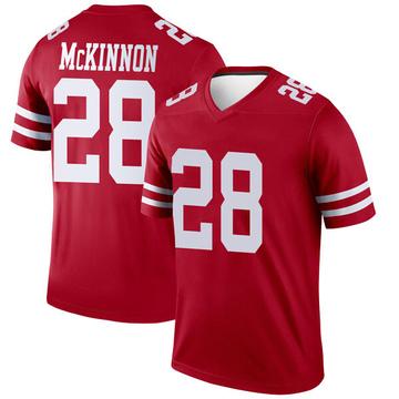 Youth Nike San Francisco 49ers Jerick McKinnon Scarlet Jersey - Legend