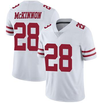 Youth Nike San Francisco 49ers Jerick McKinnon White Vapor Untouchable Jersey - Limited