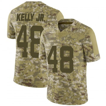 Youth Nike San Francisco 49ers Jermaine Kelly Jr. Camo 2018 Salute to Service Jersey - Limited