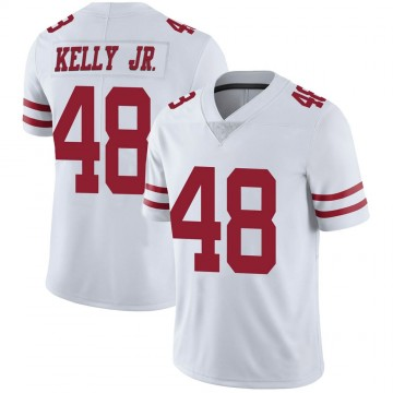 Youth Nike San Francisco 49ers Jermaine Kelly Jr. White Vapor Untouchable Jersey - Limited