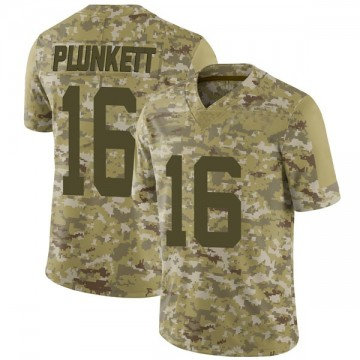 Youth Nike San Francisco 49ers Jim Plunkett Camo 2018 Salute to Service Jersey - Limited