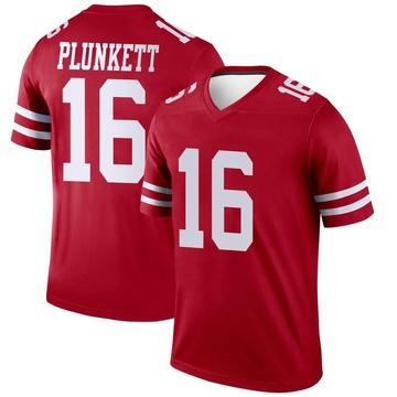 Youth Nike San Francisco 49ers Jim Plunkett Scarlet Jersey - Legend