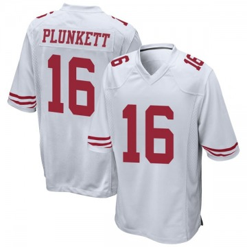 Youth Nike San Francisco 49ers Jim Plunkett White Jersey - Game