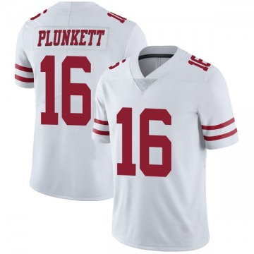 Youth Nike San Francisco 49ers Jim Plunkett White Vapor Untouchable Jersey - Limited