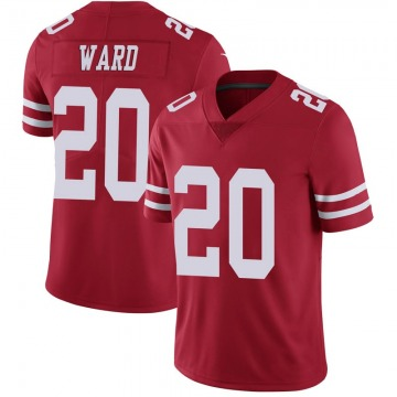 Youth Nike San Francisco 49ers Jimmie Ward Scarlet 100th Vapor Jersey - Limited