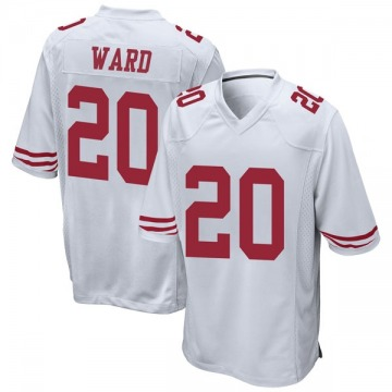 Youth Nike San Francisco 49ers Jimmie Ward White Jersey - Game