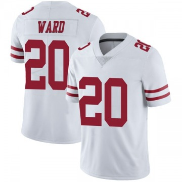 Youth Nike San Francisco 49ers Jimmie Ward White Vapor Untouchable Jersey - Limited
