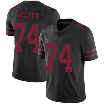 Youth Nike San Francisco 49ers Joe Staley Black Alternate Vapor Untouchable Jersey - Limited