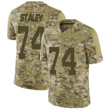 Youth Nike San Francisco 49ers Joe Staley Camo 2018 Salute to Service Jersey - Limited