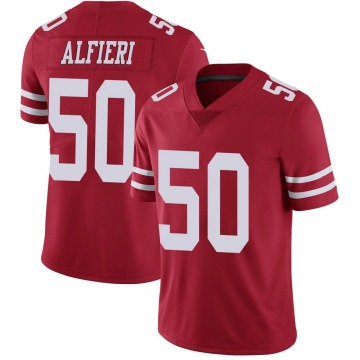 Youth Nike San Francisco 49ers Joey Alfieri Red Team Color Vapor Untouchable Jersey - Limited
