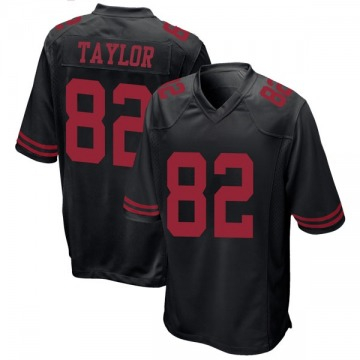 Youth Nike San Francisco 49ers John Taylor Black Alternate Jersey - Game