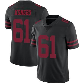 Youth Nike San Francisco 49ers Jonathan Kongbo Black Alternate Vapor Untouchable Jersey - Limited