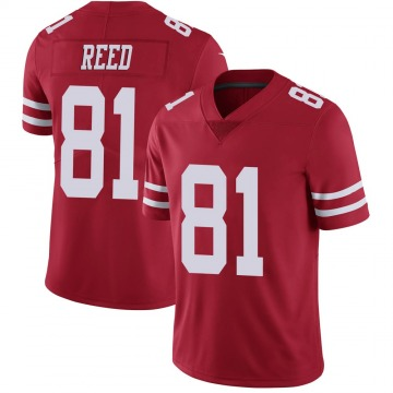 Youth Nike San Francisco 49ers Jordan Reed Red Team Color Vapor Untouchable Jersey - Limited
