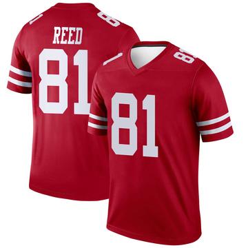 Youth Nike San Francisco 49ers Jordan Reed Scarlet Jersey - Legend