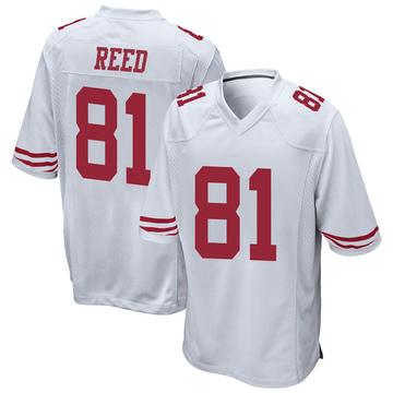 Youth Nike San Francisco 49ers Jordan Reed White Jersey - Game