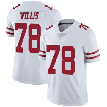 Youth Nike San Francisco 49ers Jordan Willis White Vapor Untouchable Jersey - Limited
