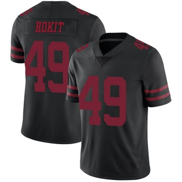 Youth Nike San Francisco 49ers Josh Hokit Black Alternate Vapor Untouchable Jersey - Limited