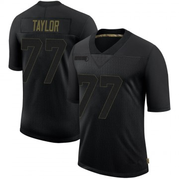 Youth Nike San Francisco 49ers Jullian Taylor Black 2020 Salute To Service Jersey - Limited