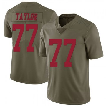 Youth Nike San Francisco 49ers Jullian Taylor Green 2017 Salute to Service Jersey - Limited