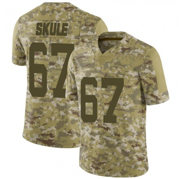 Youth Nike San Francisco 49ers Justin Skule Camo 2018 Salute to Service Jersey - Limited