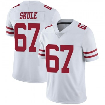 Youth Nike San Francisco 49ers Justin Skule White Vapor Untouchable Jersey - Limited