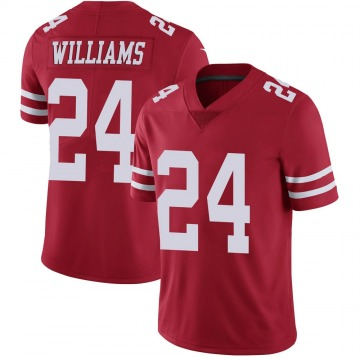 Youth Nike San Francisco 49ers K'Waun Williams Red Team Color Vapor Untouchable Jersey - Limited