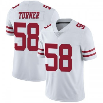 Youth Nike San Francisco 49ers Keena Turner White Vapor Untouchable Jersey - Limited