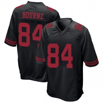Youth Nike San Francisco 49ers Kendrick Bourne Black Alternate Jersey - Game