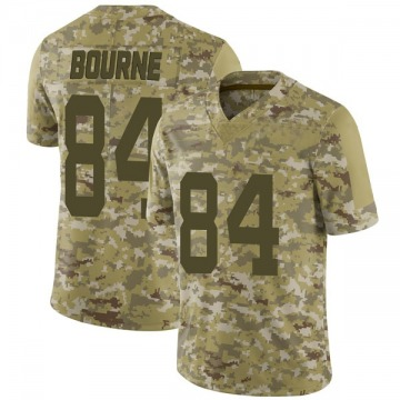 Youth Nike San Francisco 49ers Kendrick Bourne Camo 2018 Salute to Service Jersey - Limited