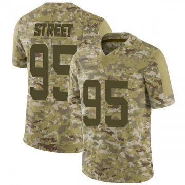 Youth Nike San Francisco 49ers Kentavius Street Camo 2018 Salute to Service Jersey - Limited