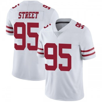 Youth Nike San Francisco 49ers Kentavius Street White Vapor Untouchable Jersey - Limited